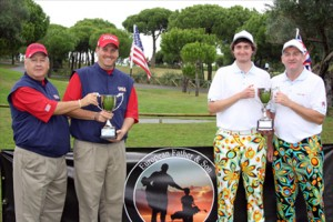 One again the <strong>European Father & Son Golf Championship</strong> has chosen golf el rompido for their annual event
